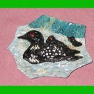 Loon and Baby Magnet