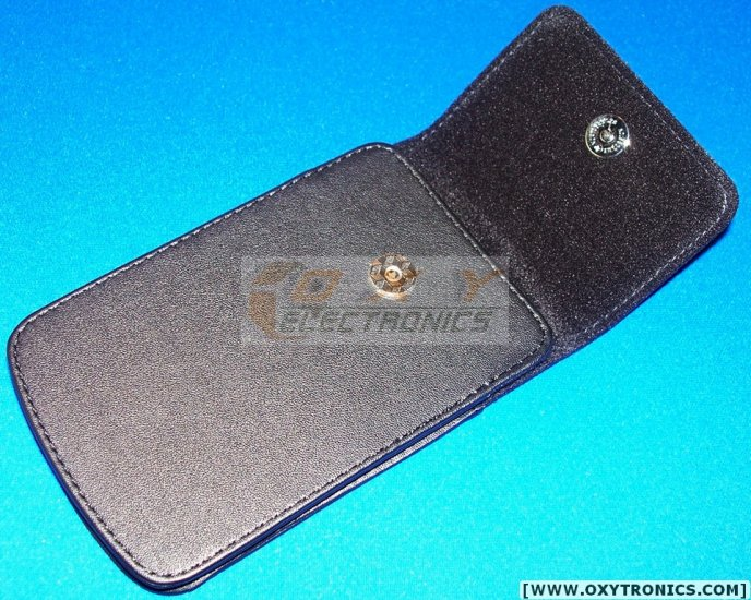 HP 17BII+ 17BII 10BII Leather Pouch w/ Magnetic Button