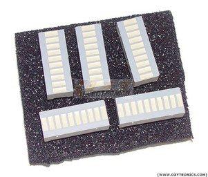 5 pcs 10 SEGMENT LED BARGRAPH Array New