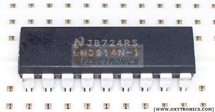 10 pcs LM3914 LED Display Driver Bargraph/DOT Mode NEW
