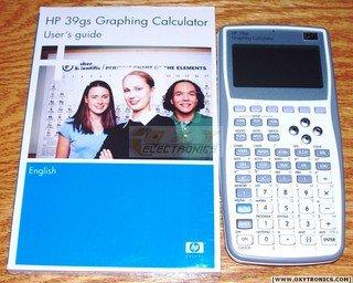 Refurbished HP 39GS Calculator plus Manual Low Price