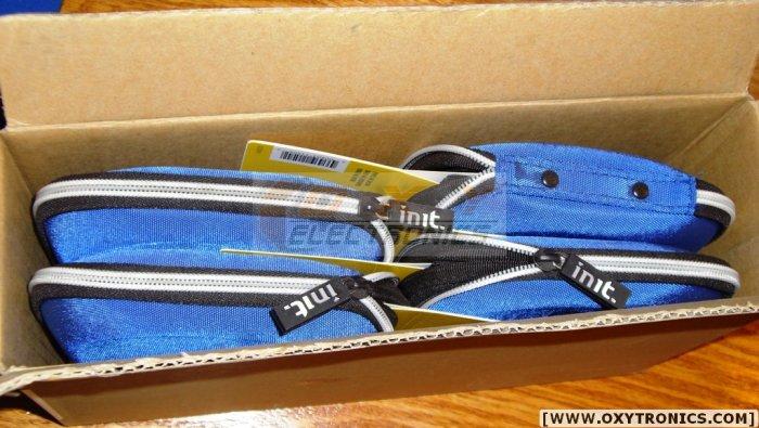 Init BLUE MT-MS202 Nylon Media Wallet 4 pk 24*4=96 NEW