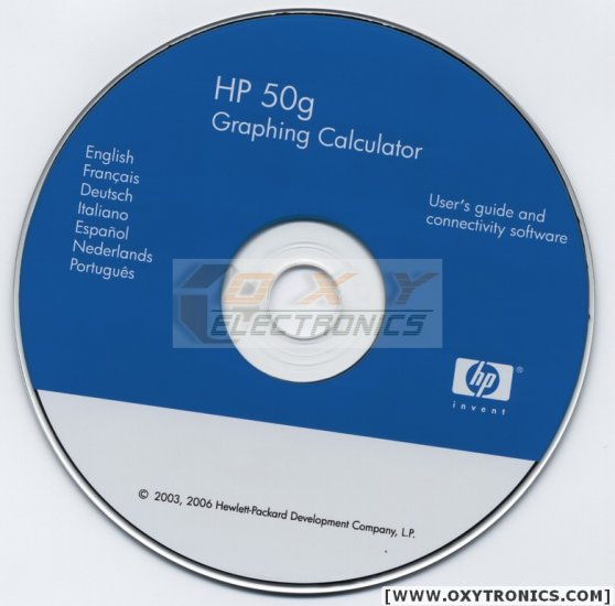 HP 50G CD Software Guides Multi Language - ALL FILES