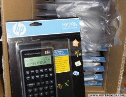 HP 20b business consultant calculator BOX of 20 UNITS