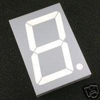 "7 Segment LED DISPLAY 2.3""  inches  \\ SINGLE DIGIT//"