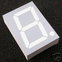 "7 Segment LED DISPLAY 1.5""  inches  \\ SINGLE DIGIT//"