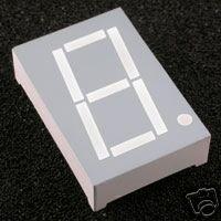 "7 Segment LED DISPLAY 1.0""  inches  \\ SINGLE DIGIT//"