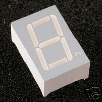 "7 Segment LED DISPLAY 0.56""  inches  \\ SINGLE DIGIT//"