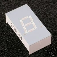 "7 Segment LED DISPLAY 0.30""  7.62 mm - SINGLE DIGIT -"