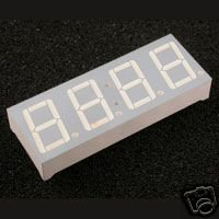 """7 Segment LED DISPLAY 0.56""""  inches  \\ FOUR DIGITS //"""
