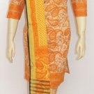 Item#CT1043 Orange cotton salwar kameez