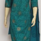 Item#CT1014 Teal Salwar Kameez
