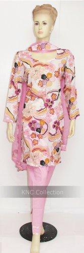 Item#CT1065 Pink printed salwar kameez