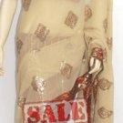 Item#SR1014 Designer fishtail Saree(Lehenga Saree) (WAS-$170, NOW-$110)