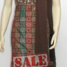Item#ED1008 Brown thread work (WAS-$120, NOW-$99)