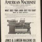 American Machinist 12-12-1901 original