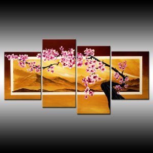 Cherry Blossom #1- Floral branch-Flowering tree