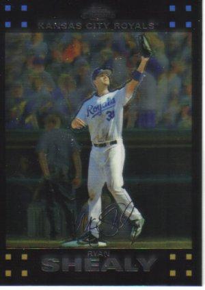 2007 Topps Chrome  #88 Ryan Shealy   Royals