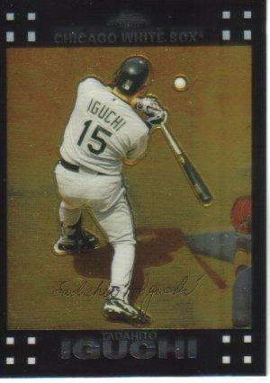 2007 Topps Chrome  #207 Tadahito Iguchi   White Sox