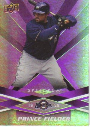 2009 Upper Deck Spectrum  #55 Prince Fielder   Brewers