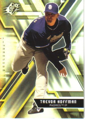 2009 Upper Deck SPx  #36 Trevor Hoffman   Paderes
