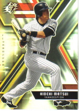 2009 Upper Deck SPx  #55 Hideki Matsui   Yankees