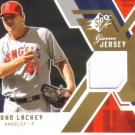 2009 Upper Deck SPx Game Jersey   John Lackey   Angels