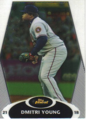 2008 Topps Finest  #44 Dmitri Young   Nationals