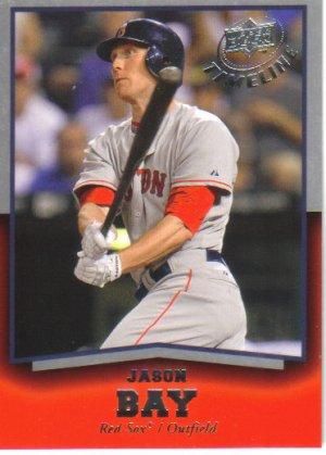2008 Upper Deck Timeline  #15 Jason Bay   Red Sox