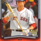 2008 Upper Deck Timeline  #66 Jed Lowrie  RC  Red Sox