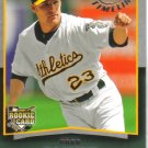 2008 Upper Deck Timeline  #76 Greg Smith  RC  A's
