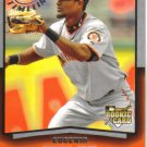 2008 Upper Deck Timeline  #83 Eugenio Velez  RC  Giants