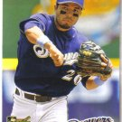 2008 Upper Deck Timeline  #118 Hernan Iribarren  RC  Brewers