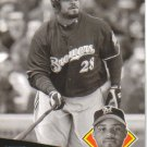 2008 Upper Deck Timeline  #141 Prince Fielder   Brewers