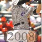 2008 Upper Deck Timeline  #244 Troy Tulowitzki   Rockies