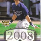 2008 Upper Deck Timeline  #292 Justin Ruggiano  RC  Rays