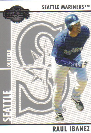 2008 Topps Co-Signers  #48 Raul Ibanez   Mariners