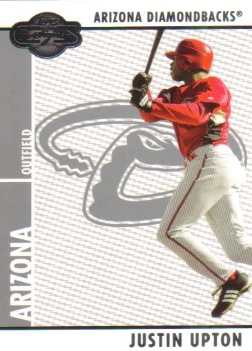 2008 Topps Co-Signers  #59 Justin Upton   Diamondbacks