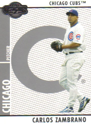 2008 Topps Co-Signers  #82 Carlos Zambrano   Cubs