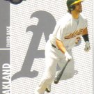 2008 Topps Co-Signers  #88 Eric Chavez   A's