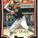 2009 Bowman  #1 David Wright   Mets