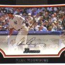 2009 Bowman  #3 Alex Rodriguez   Yankees