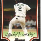2009 Bowman  #12 Hanley Ramirez   Marlins
