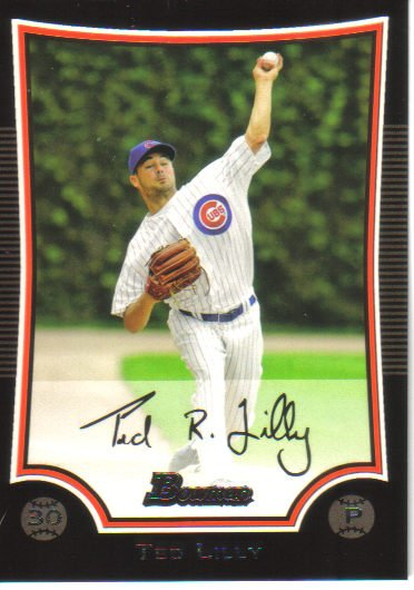 2009 Bowman  #17 Ted Lilly   Cubs