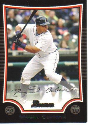 2009 Bowman  #18 Miguel Cabrera   Tigers