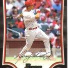 2009 Bowman  #37 Ryan Ludwick   Cardinals