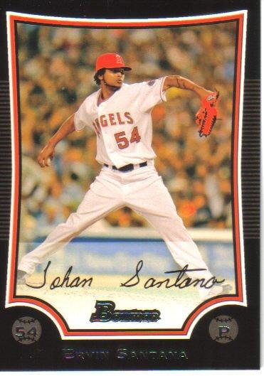 2009 Bowman  #45 Ervin Santana   Angels