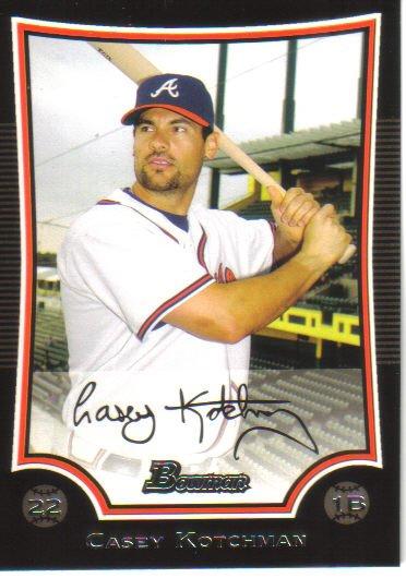 2009 Bowman  #64 Casey Kotchman   Braves