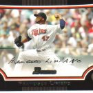 2009 Bowman  #101 Francisco Liriano   Twins