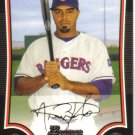 2009 Bowman  #111 Nelson Cruz   Rangers